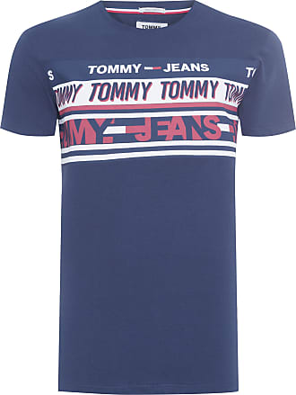 Tommy Jeans T-SHIRT MASCULINA ESSENTIAL TOMMY TEE - AZUL
