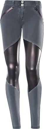 Freddy WR.UP SHAPING EFFECT - Taille basse - SKINNY - Détails effet cuir - Teint en pièce - Tissu en coton à larrière
