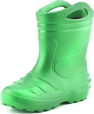 Ladeheid Childrens Girls Boys EVA Extra Light Wellington Boots Rainy Wellies Rain Boots KL051 (EU 32 = UK 13 Kids, 13 UK Child)