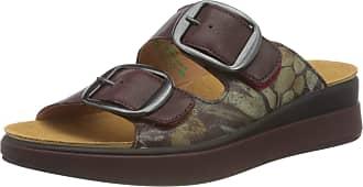 Think Womens Meggie_3-000053 Sandal, Red 5010 Chianti Kombi, 3 UK