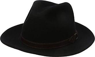 641c7ce72cb06 Country Gentleman Mens Dunmore Classic Wool Fedora Hat