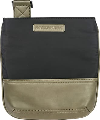 Emporio Armani mens cross-body messenger shoulder bag black ba6891711bae7