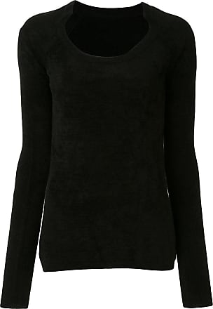 We11done slim fit top - Black