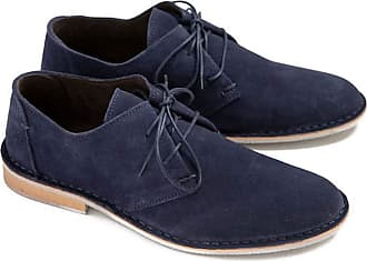 Ikon Franklin Suede Shoe | Navy (11)