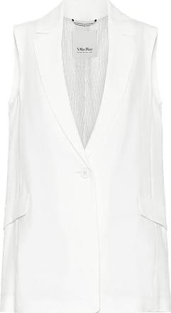 Max Mara Hamburg linen-blend blazer