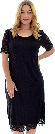 Nouvelle Collection Nouvelle Floral Lace Midi Dress Black 22-24