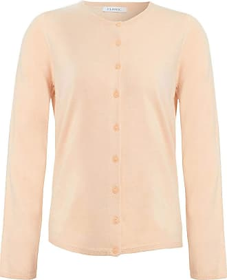 White Label Marks & Spencer Womens Fine Knit Cardigan Soft New M&S Round Neck Cardie Top Peach Size 22