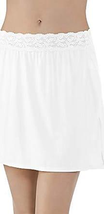 Vanity Fair Womens Plus Size Body Foundation Half Slip 11072, Star White, Large (16 Length)