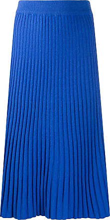 N.Peal ribbed knit skirt - Blue