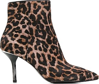 Michael Michael Kors Ankle boot com estampa de leopardo - Marrom