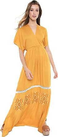 Dress To Vestido Dress to Longo Bordado Encanto Amarelo