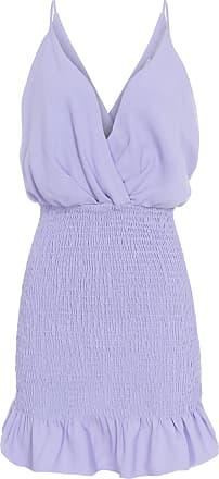 Iorane Vestido Mini Lastex - Lilás