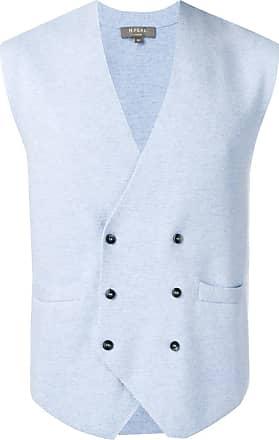 N.Peal cashmere waistcoat - Blue