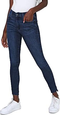 GAP Calça Jeans GAP Skinny Cropped Estonada Azul
