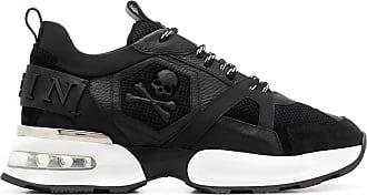 Philipp Plein Fashion Man MSC2557PTE003N02 Black Leather Sneakers | Fall Winter 20