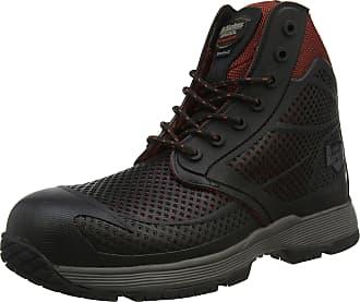 Dr. Martens Mens Calamus Safety Shoes, Red (Oxblood 601), 6.5 (40 EU)