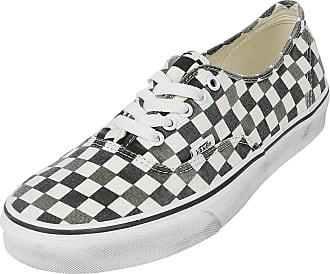 Vans Authentic Washed Grape Leaf - Sneaker - schwarz, weiß