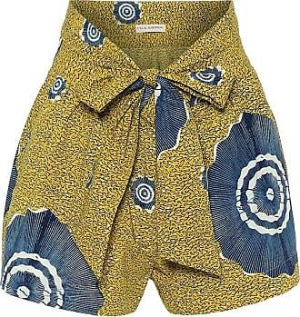 Ulla Johnson Martim printed cotton shorts