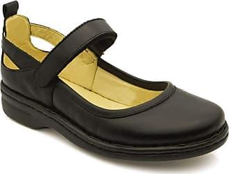 Doctor Shoes Antistaffa Sapato Feminino 364 em Couro Preto Doctor Shoes-Preto-40