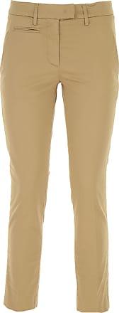 c1d881d2797500 Dondup Pantaloni Donna On Sale, Beige, Cotone, 2017, 39 41