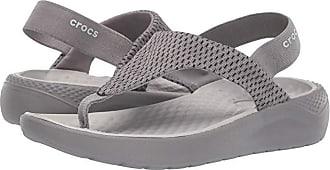 Crocs LiteRide Mesh Flip (Smoke/Smoke) Womens Sandals