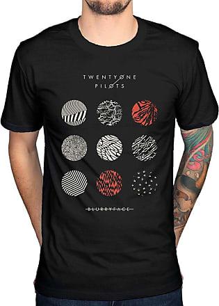 AWDIP Official Twenty One Pilots Pattern Circles T-Shirt Black