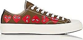0a366541f9a Comme Des Garçons Womens Chuck Taylor 1970s Sneakers - Dk. Green ...