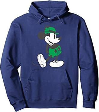 Disney Mickey Mouse Classic Green Pullover Hoodie