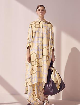 Joseph Diana Viscose Big Logo Dress