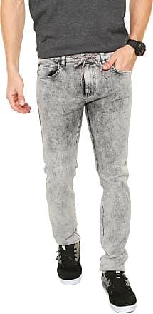 Element Calça Jeans Element Slim Rise Cinza