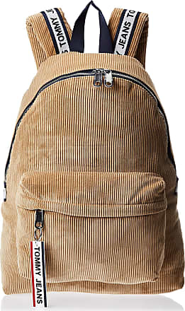 Tommy Hilfiger TJM Logo Backpack Corduroy Tigers Eye