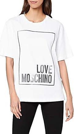 Love Moschino Love Mode Print/_Short Sleeve T-Shirt Camiseta para Mujer