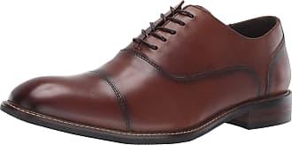 Kenneth Cole Reaction Mens Hammond Lace Up Shoe, Cognac, 9 M US