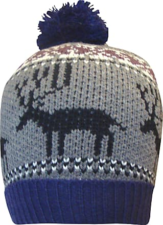 TeddyTs Boys Polar Bear Thermal Knitted Winter Bobble Hat 8-14 Years