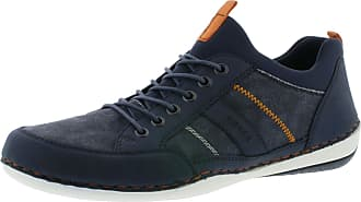 Rieker B9265-15 Mens Lace Up Casual Shoes Navy EUR 41