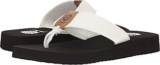 Yellow Box Flax (White) Womens Sandals