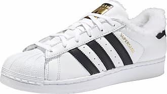 the best attitude 3a629 dd698 adidas Originals »Superstar W« Sneaker mit Warmfutter, weiß, weiß-schwarz