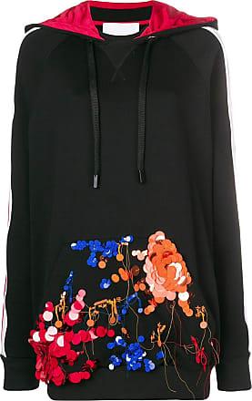 No Ka'Oi embellished pocket hoodie - Black