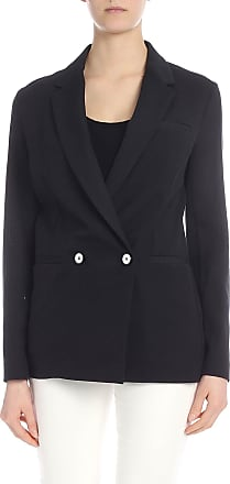 Pinko Orsola jacket in black leno weave