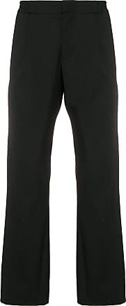 Juun.J elasticated waist trousers - Preto