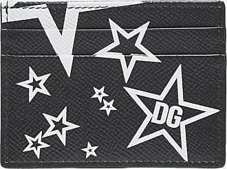 Dolce & Gabbana Millennials Star print leather cardholder - DOLCE & GABBANA - man