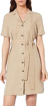 Pieces Womens Pcwhy Ss Tie Belt Dress-Bi, Beige (White Pepper White Pepper), 34 (Size: XS)