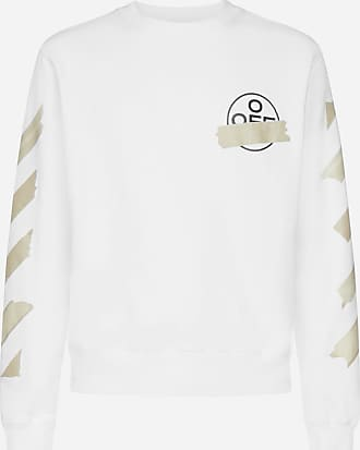 Off-white Felpa Tape Arrows in cotone - OFF WHITE - uomo