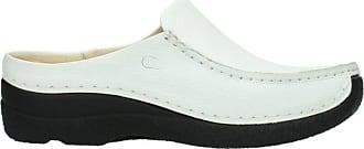 Wolky Womens Seamy Slide Loafer, Weiss, 7 UK