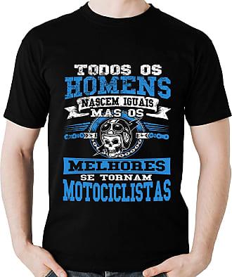 Dragon Store Camiseta Todos Homens Motociclista Moto Motoqueiro B Camisa Blusa