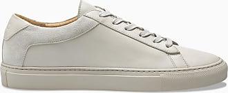 KOIO Mens Low Top Nuvola Beige Leather Suede Capri 10 (US) / 43 (EU)