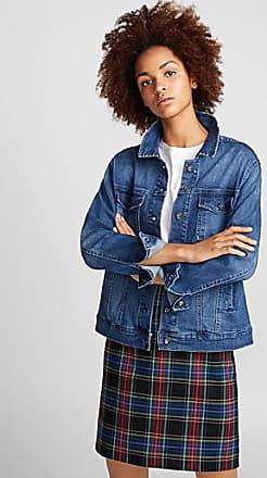 Icone Stretch blue denim jacket