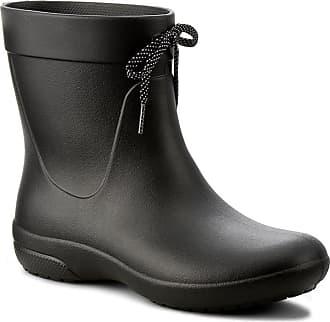 Crocs Botas de agua CROCS - Freesail Shorty Rainboot 203851 Black a1f36a2298b