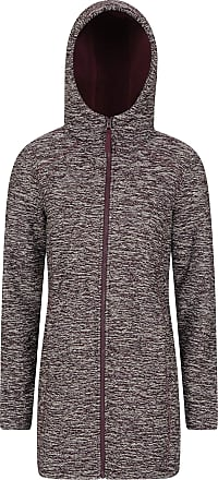 Mountain Warehouse Stirling Sherpa Lined Jersey Womens Hoodie - Casual Ladies Sweatshirt, Full Zip Jumper, Warm & Cosy Pullover - for Walking, Travelling & Daily Use Bur