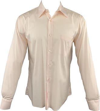 1ea067bb870f4 Alexander McQueen Alexander Mcqueen Size M Light Pink Button Up Long Sleeve  Shirt